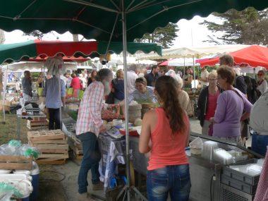 le marché gourmand estival